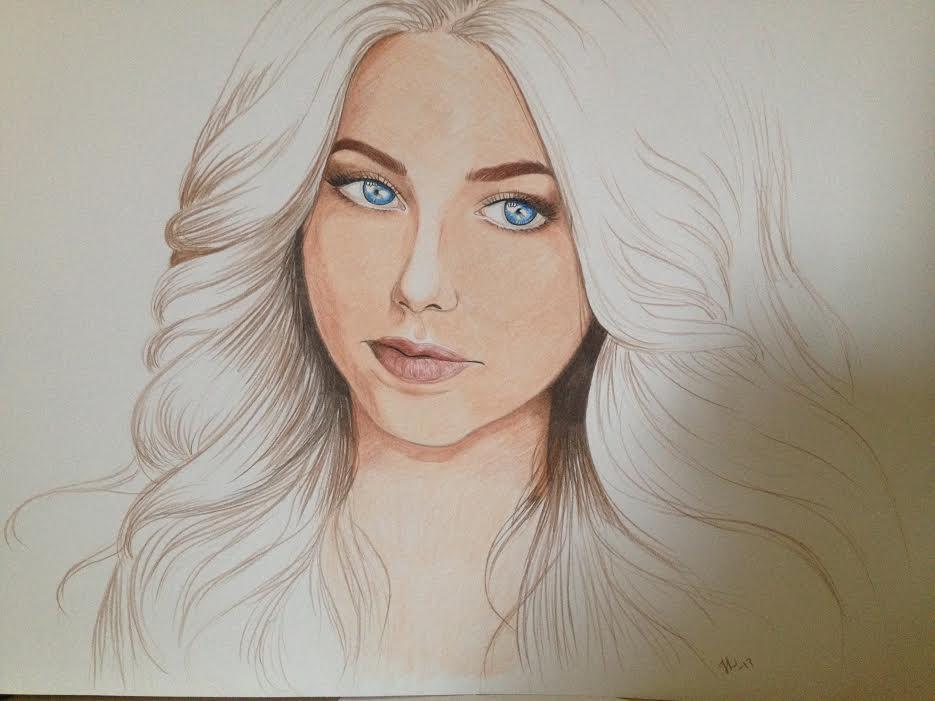 girl by Drawlover