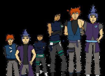 Kirigakure - Team 3.