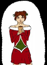 Konoha Christmas Fashion: Tenten