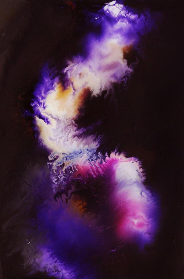 in lila gekleidet by lucid-dion