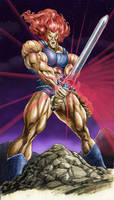 Thundercats Lion-O by Maxwell Duarte by madmaxsol