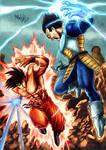 Goku x Vegeta Dragonball Z