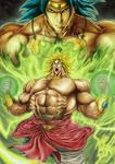 Broly- Legendary Super Sayajin by Maxwell Duarte