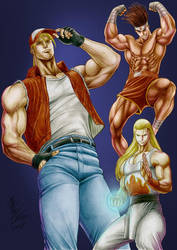 KoF Time Fatal Fury (Italy) by madmaxsol