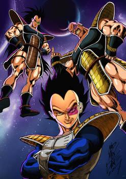 Dragon Ball Z Villains- Saiyajins