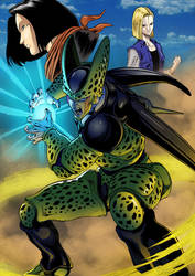 Dragon Ball Z Villains- Cell