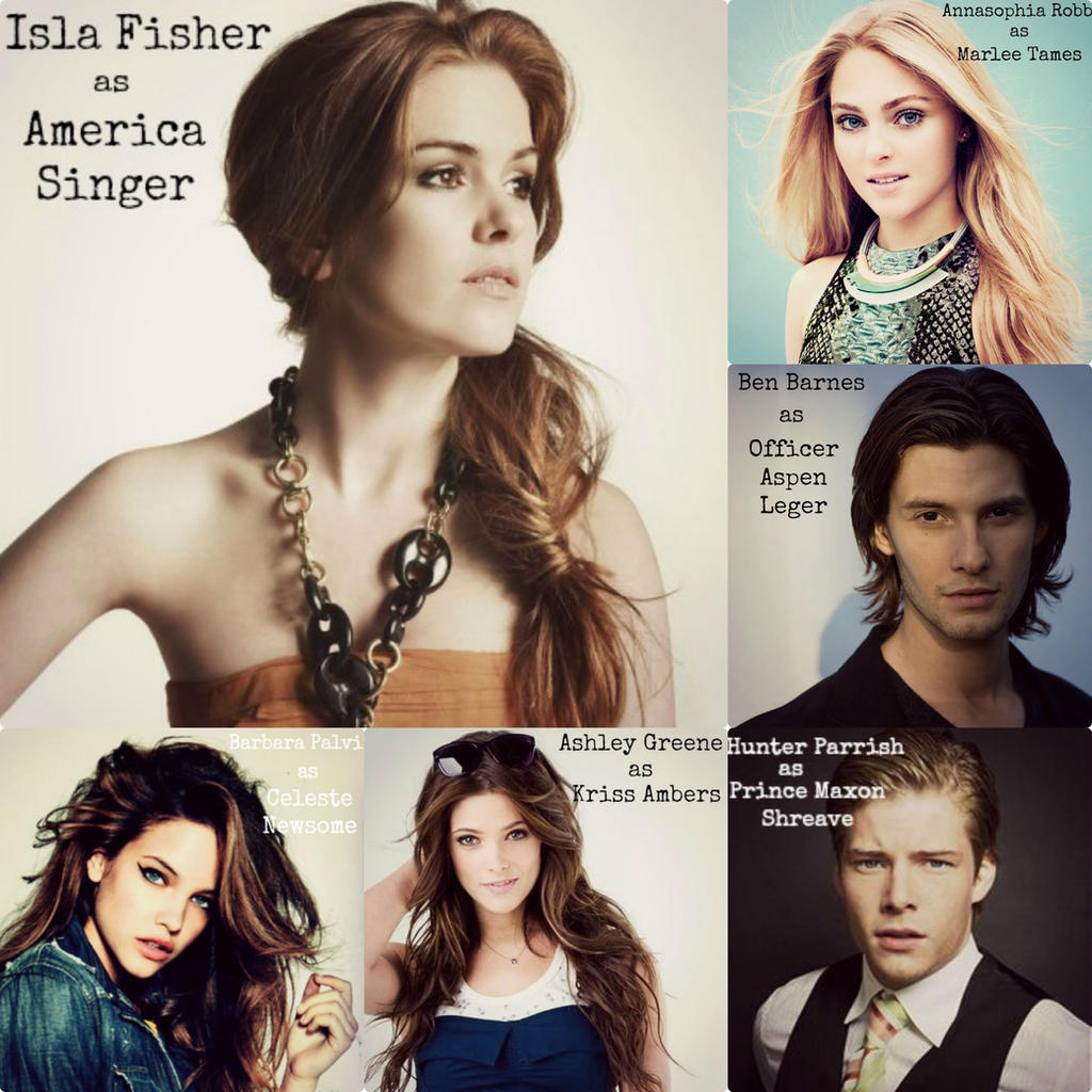 The Selection Fan Cast By Emmielue1 On DeviantArt