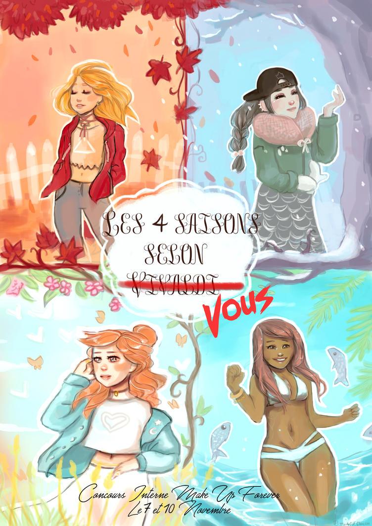 les 4 saisons de vivaldi / project make up forever by Chriss-art