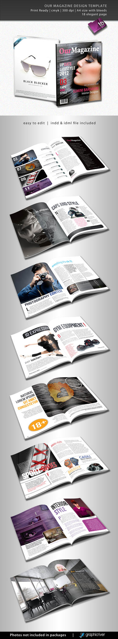 Our Magazine Template by semutireng46