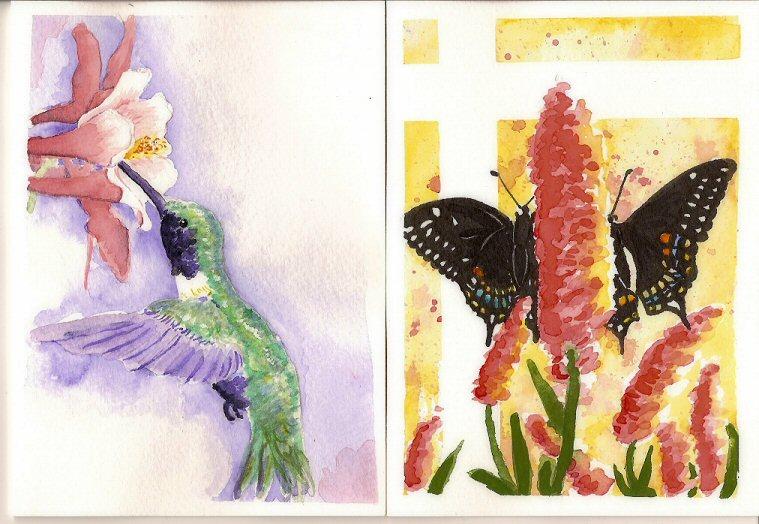 Thank you Watercolors by chibipandora