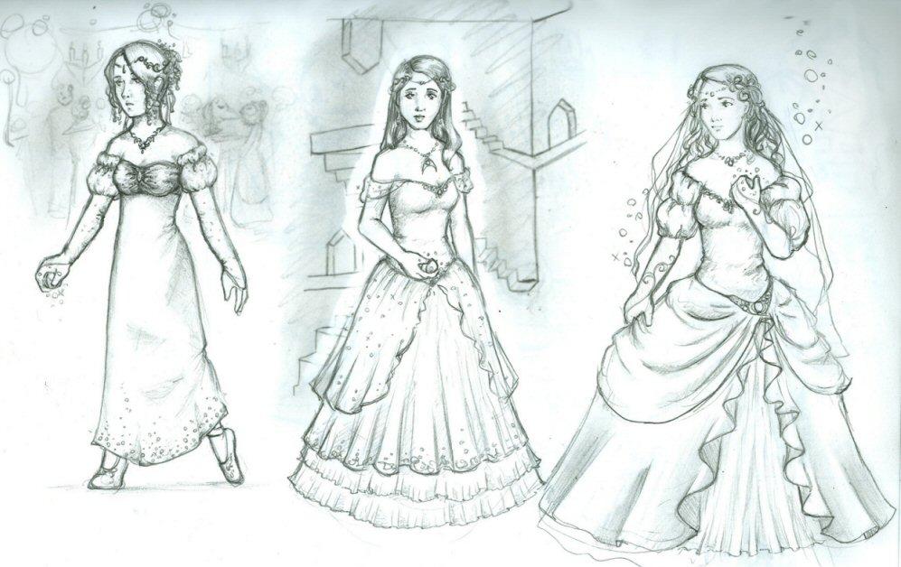 Labyrinth Ball Gown Fashion Dresses