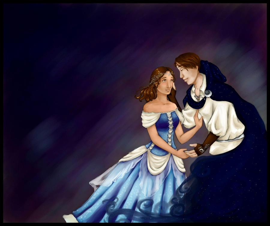 Starry Night Romance by chibipandora