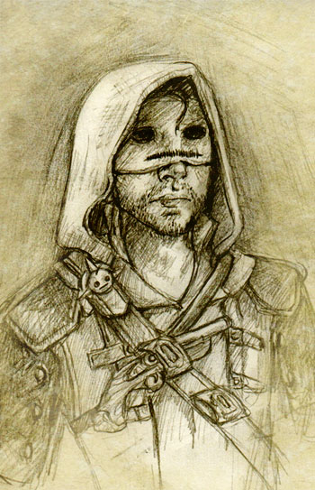 Assassin's Creed 4: Cry 2 by chibipandora