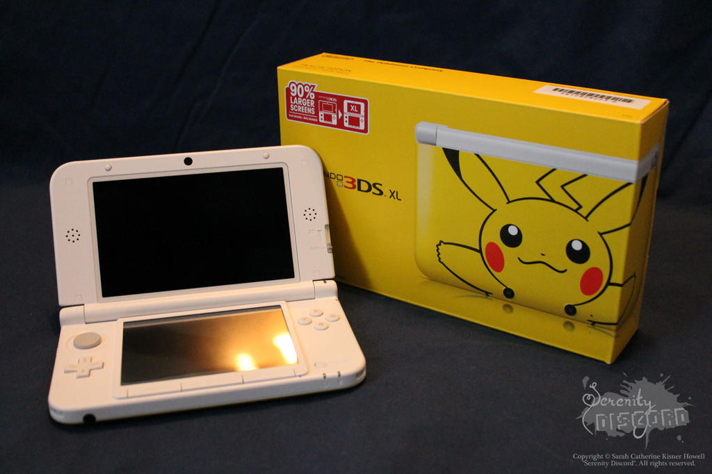 Pikachu 3ds xl by serenity discord on deviantart for 3ds xl pikachu achat