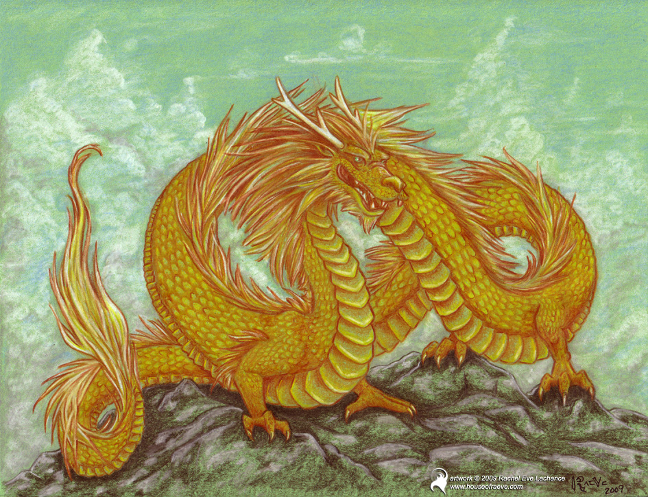 golden dragon deviantart