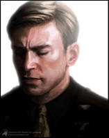 Capt. Steve Rogers by luckyraeve