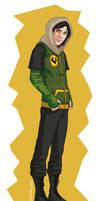 Midgardian Fashion Kid Loki by luckyraeve