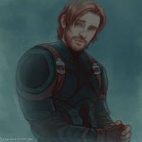 Beardy!Steve sketch 03 by luckyraeve