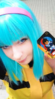 Namek Bulma cosplay (Dragon Ball Z)