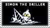 STAMP - simon the driller by Furuba-Fangirl