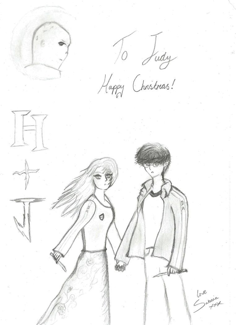 Harry Potter Christmas Card By XMidnight-StarlightX On DeviantART