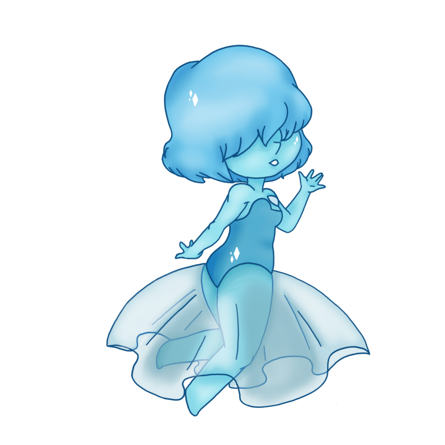 Blue pearl from Steven Universe.