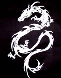 White Dragon by Larien-Miriel