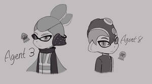 Male Agent 3 + Male Agent 8 doodle