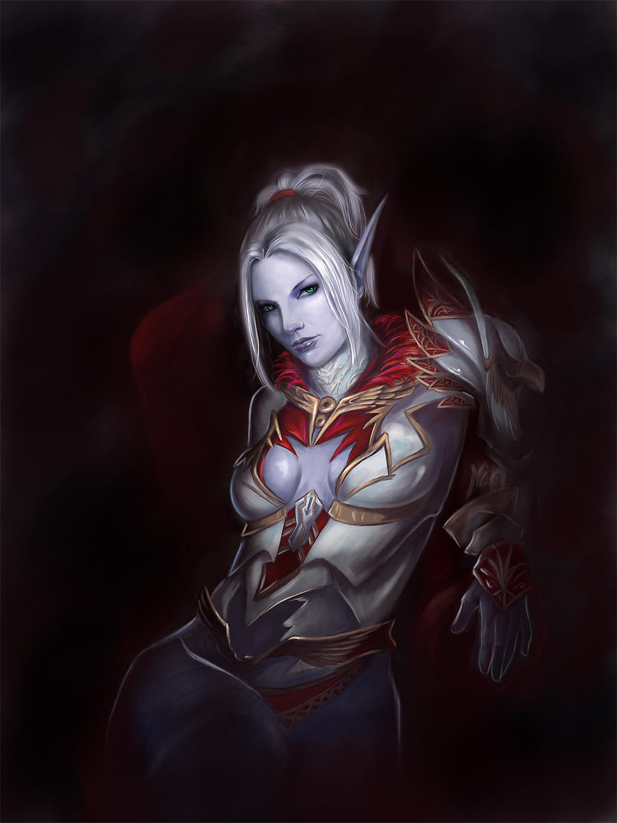 Dark Elf by Millory