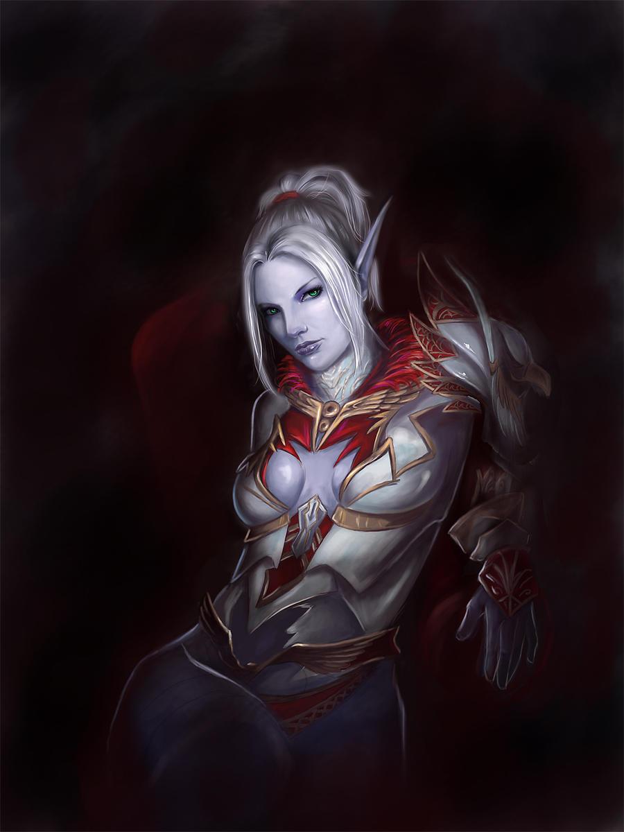 Dark Elf by Millory