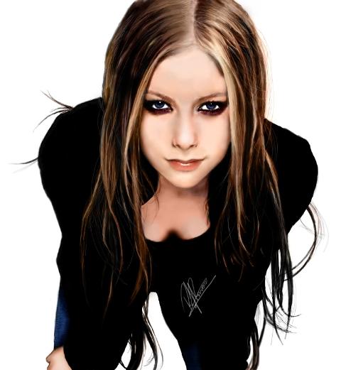 Avril Lavigne by rodg-art