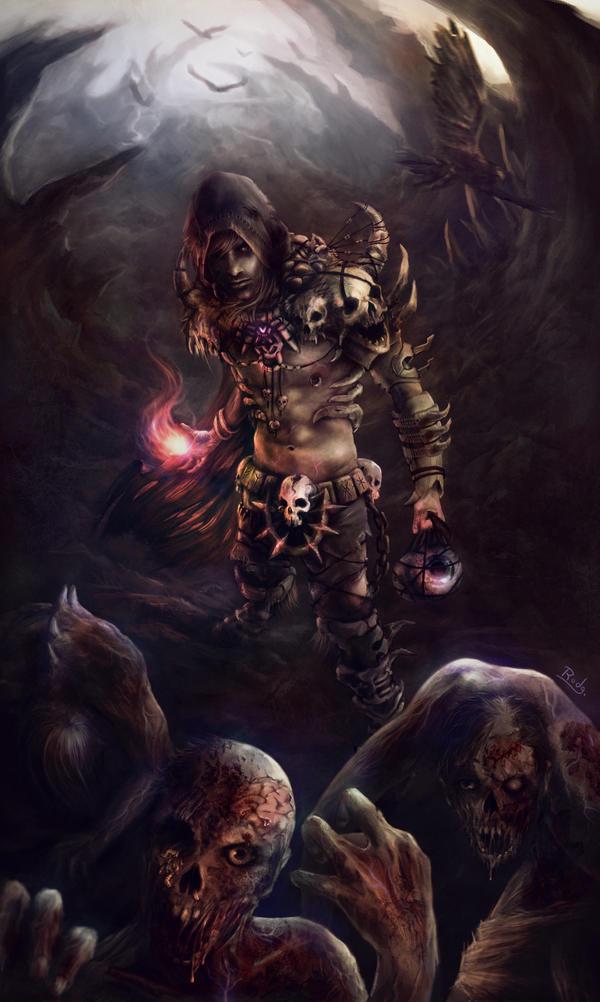 Necromantia by rodg-art
