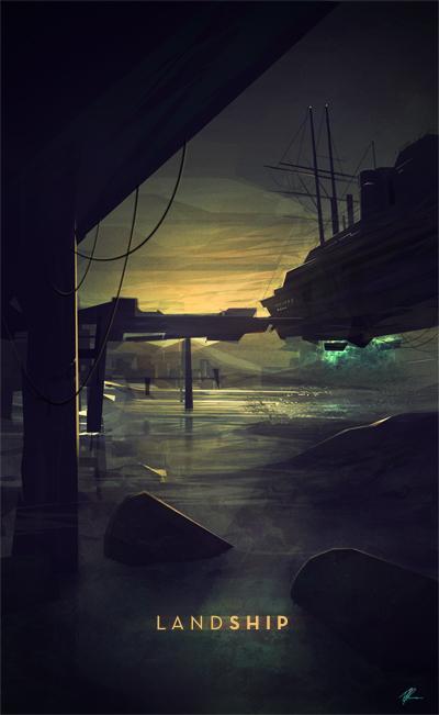 LandShip by rodg-art