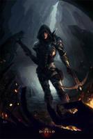 Demon Hunter - Diablo 3 by rodg-art