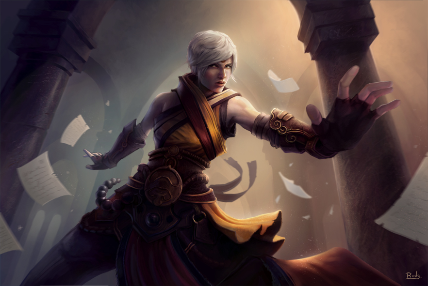 Monk - Diablo 3 by rodg-art