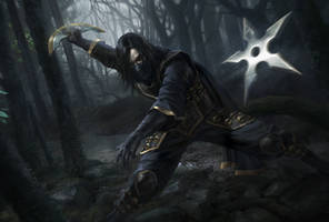 Shadowwalker Xeros by rodg-art