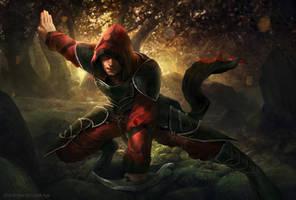 Bloodborn Xeros by rodg-art