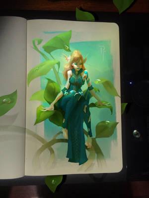 Tiny Fantasy by rodg-art