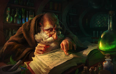 The Alchemist by rodg-art