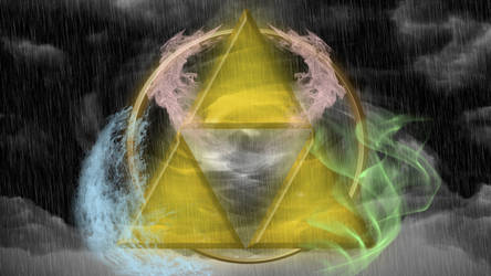 Triforce Wallpaper by TheGeminiSage