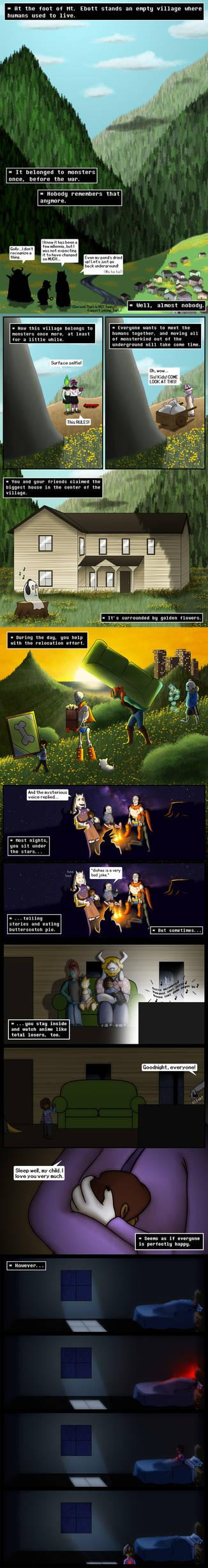 REFUSE pg 1-5 (Happy Birthday, UNDERTALE!)