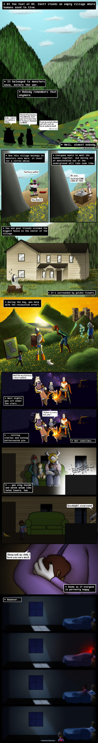 REFUSE pg 1-5 (Happy Birthday, UNDERTALE!) by TheGeminiSage