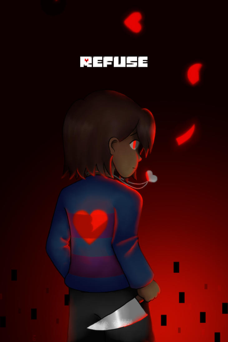 REFUSE Poster by TheGeminiSage