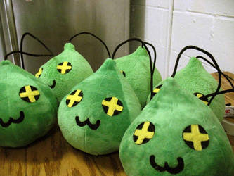 MapleStory Plush Slime2 by TheCurseofRainbow