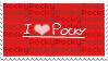 I Love Pocky Stamp by Twilight-Kiyoko