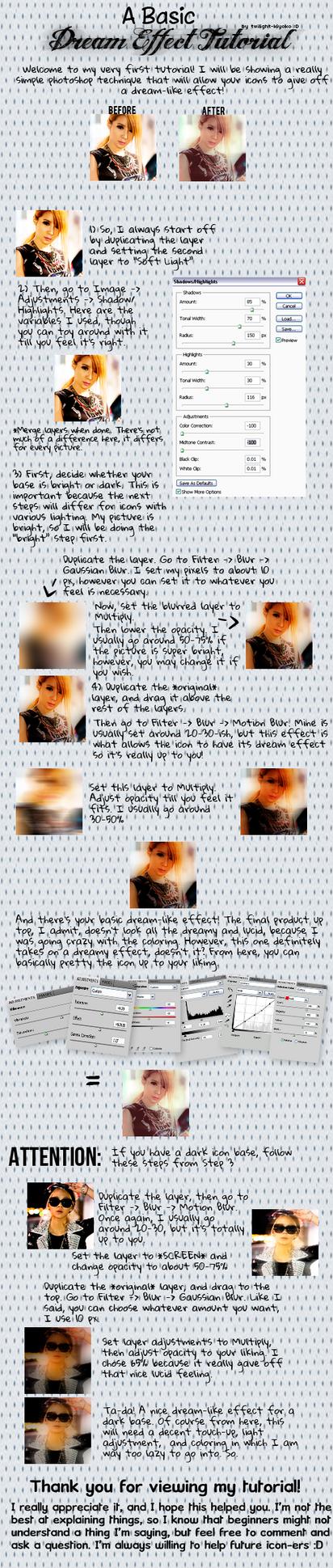 Basic Dream Effect Tutorial by Twilight-Kiyoko