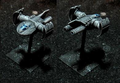 TIE-inspired Starfighter