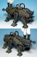 The Galvanic Rhino by Spielorjh
