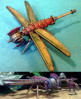 Steampunk Roman Dragonfly by Spielorjh