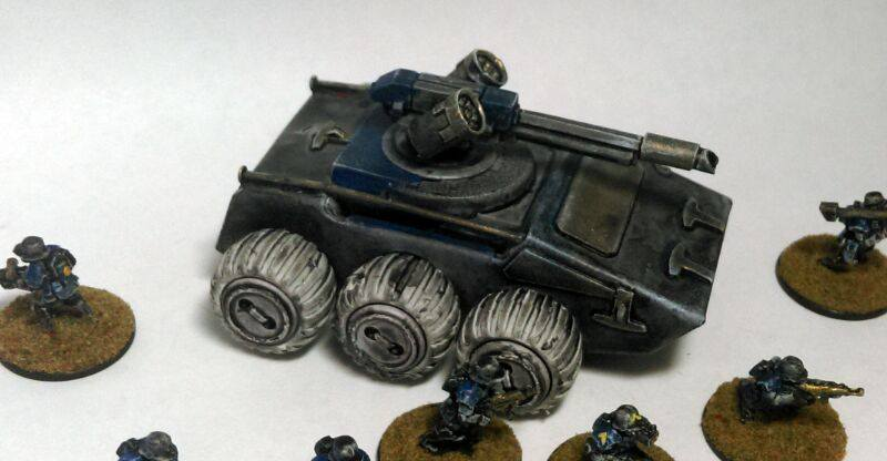 15mm Nathi AFV by Spielorjh